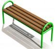 Округлая скамейка :: Вы можете проконсультироваться и заказать скамейки и лавочки по телефонам: 8 (495) 783-65-09, 8 (495) 518-64-87