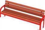 Скамейка округлая с металлическими ручками :: Вы можете проконсультироваться и заказать скамейки и лавочки по телефонам: 8 (495) 783-65-09, 8 (495) 518-64-87