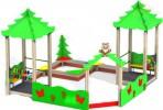Песочный дворик - Елки(без горки) :: Заказать песочницы и песочный дворики, Вы можете по телефонам: 8 (495) 783-65-09, 8 (495) 518-64-87