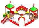 Песочный дворик - Башни :: Заказать песочницы и песочный дворики, Вы можете по телефонам: 8 (495) 783-65-09, 8 (495) 518-64-87