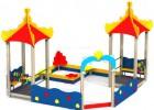 Песочный дворик - Дельфины(без горки) :: Заказать песочницы и песочный дворики, Вы можете по телефонам: 8 (495) 783-65-09, 8 (495) 518-64-87