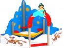 Песочный дворик - Алладин :: Заказать изготовление песочниц и песочных двориков, Вы можете по телефонам: 8 (495) 783-65-09, 8 (495) 518-64-87