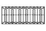 Секция забора Р-7 :: Вы можете заказать заборы различного вида, по телефонам: 8 (495) 783-65-09, 8 (495) 518-64-87